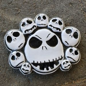 Metal enamel Disney Nightmare Jack Belt buckle